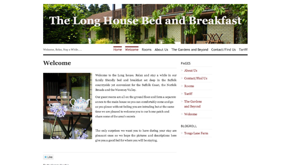 "<a href=""http://longhousebandb.wordpress.com/"">Long House Bed & Breakfast</a>"