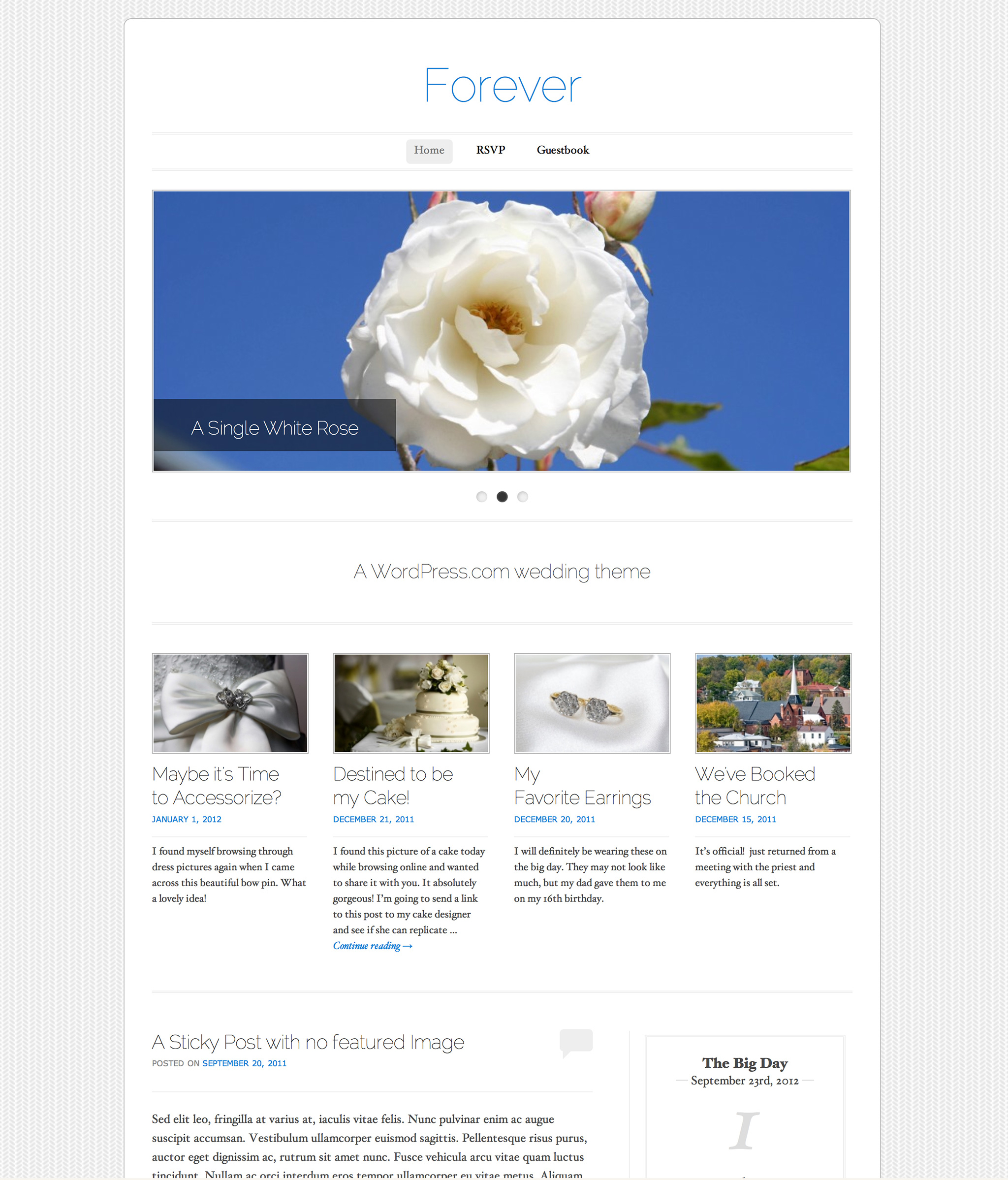 Wedding Themes | WordPress.com